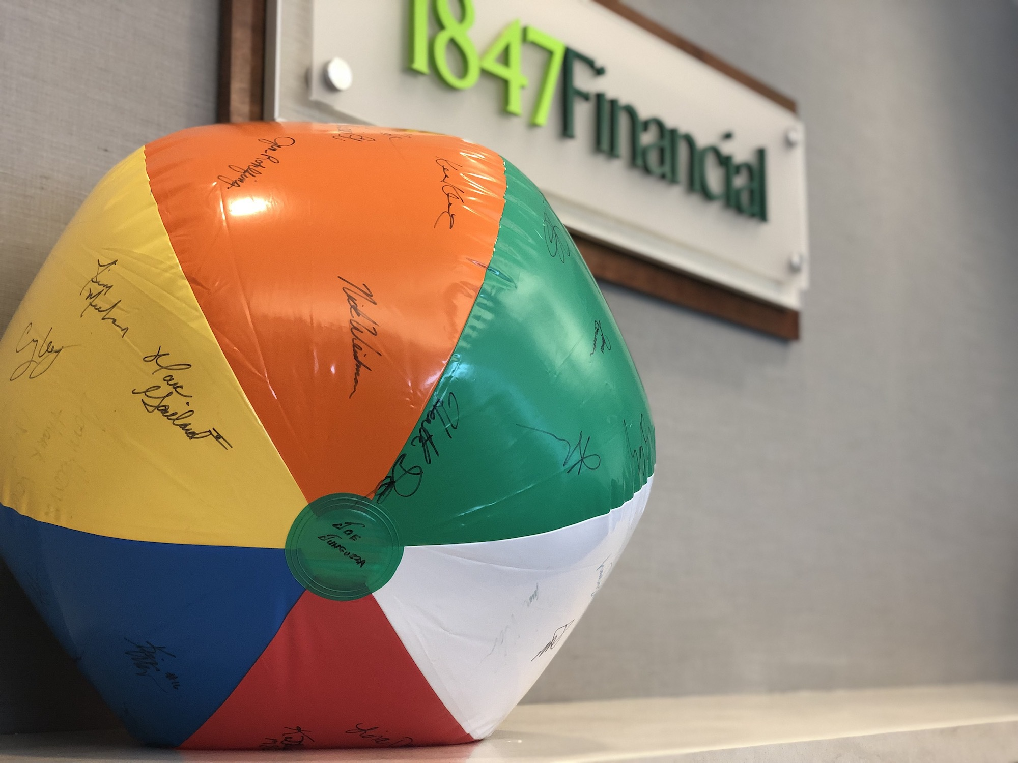 1847Finanical Beach Ball